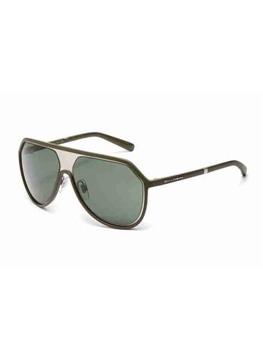 Dolce&Gabbana Dolce & Gabbana 6084 2777/71 60 Ekartman Unisex Güneş Gözlüğü Yeşil